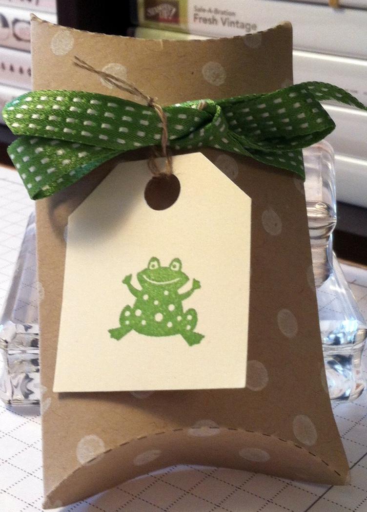 Pillowbox frog 2